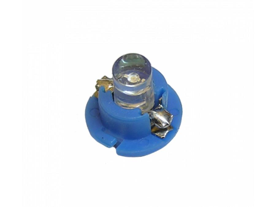 Dioda LED samochodowa 5mm niebieska B 8.4D-B w oprawce