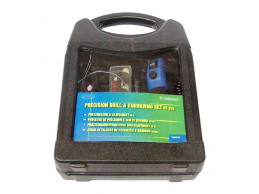 Wiertarka mini z zestawem akcesoriów 66szt