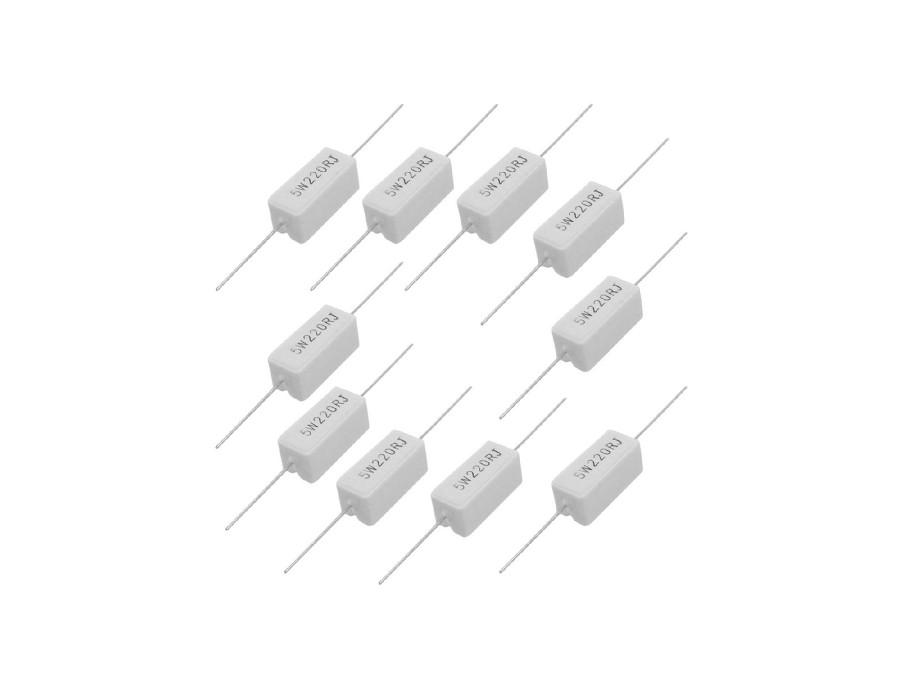 Rezystor ceramiczny 0,22R 5W