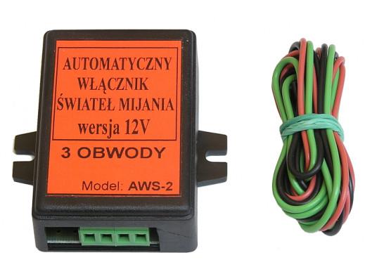 Automatyczny włącznik świateł AWS-2