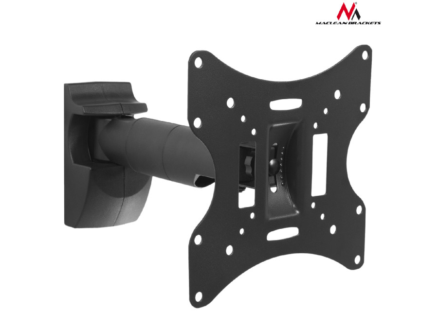 "Uchwyt do telewizora  lub  monitora 23-42"" 30kg uniwersalny Maclean MC-502A B czarny max vesa 200x200"