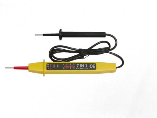 Tester napięcia LED AC/DC 12V-500V z biegunami