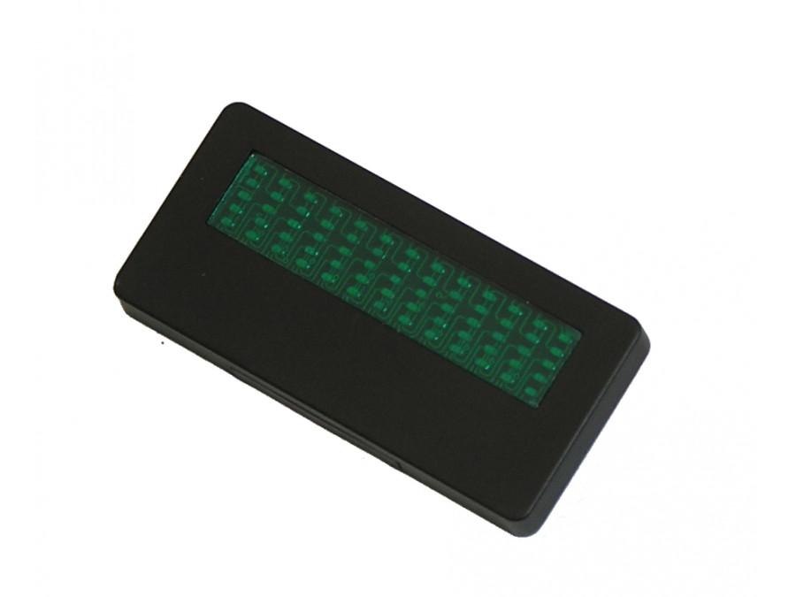 identyfikator led zielony LZNB-001 G