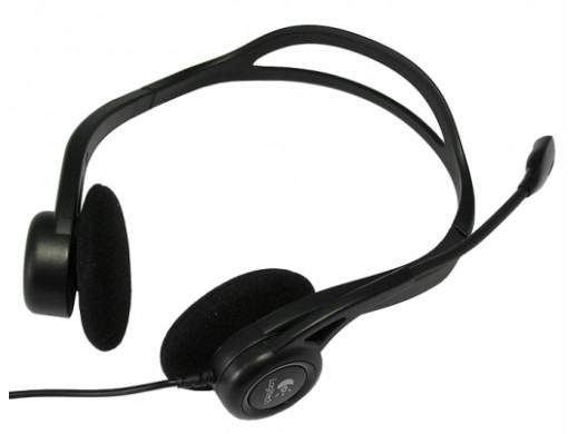 Słuchawki z mikrofonem Headset 860 Logitech