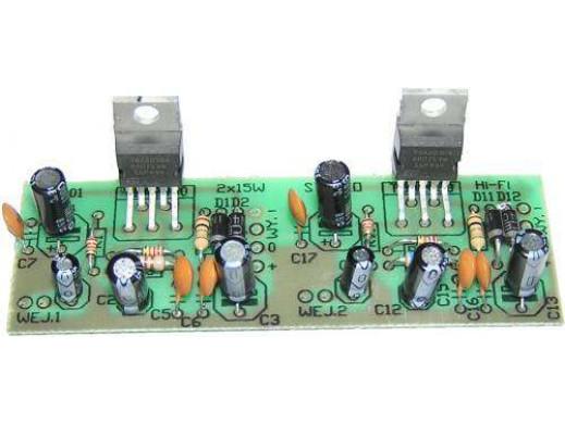 J-01 Wzmacniacz stereo 2*15W
