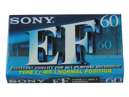Kaseta Audio Sony EF-60