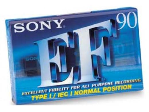 Kaseta Audio Sony EF-90