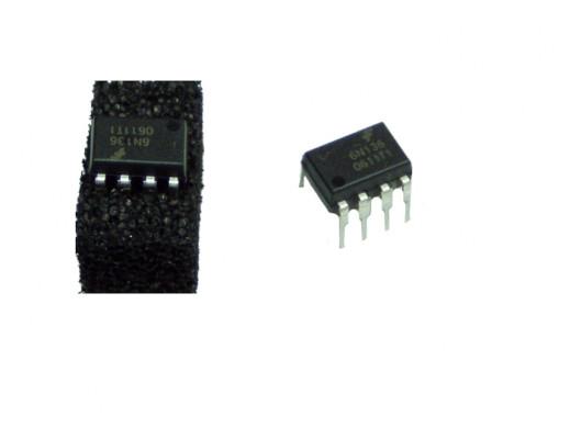 Transoptor 6N136 8 pin