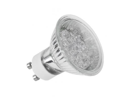 Żarówka 18 LED GU10 230V ciepły biały