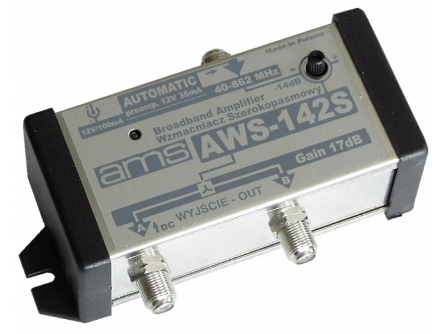 Wzmacniacz antenowy AWS-142S 2 WYJŚCIA