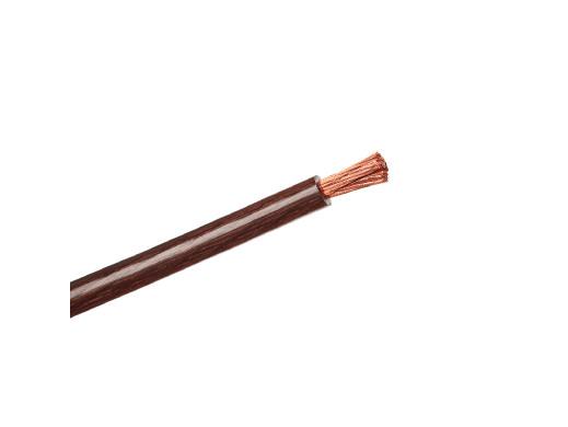 Kabel POWER 2GA 12mm brązowy