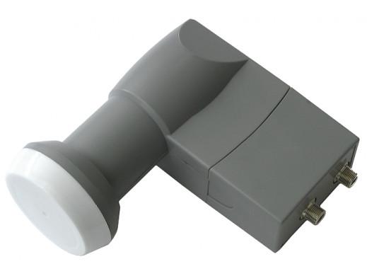 Konwerter satelitarny Twin 0,2db Cabletech