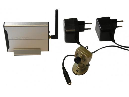 Kamera kolorowa bezprzewodowa ultra mini velleman zestaw