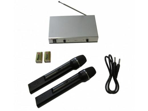 Mikrofon bezprzewodowy dwukanałowy 70LH