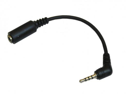 Adaptor słuchawkowy Nokia 1100 3310 3,5mm 2100/2300/3210/3410/3650/5210/7650