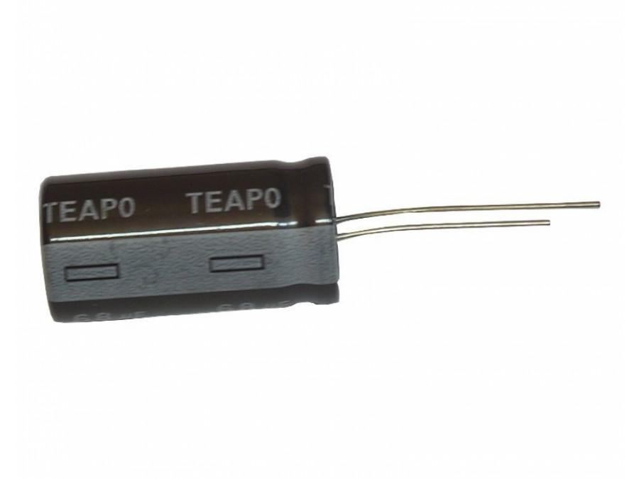 Kondensator elektrolityczny 820uF 6,3V 105c