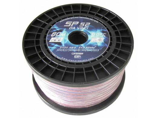Kabel głośnikowy 2*52mm DA VINCI SP52