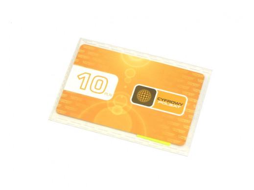Karta doładowania Cyfowy Polsat 10zł