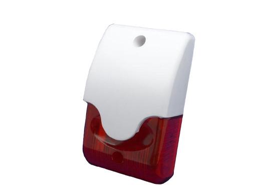 Sygnalizator Delta Ror wewnętrzny czerwony z regulacją głośności