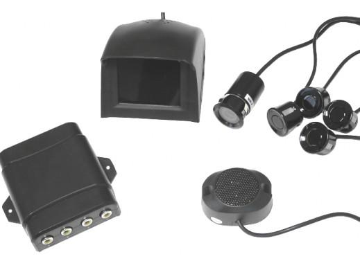 Czujnik Parkowania z kamerą monitorem - 4 czujniki
