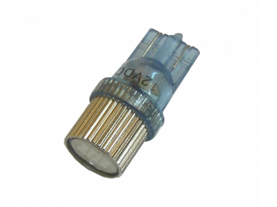 Dioda LED samoch 10mm niebieska 194 1hb-hp 12v