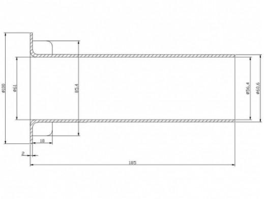 Bass Reflex HD-6 średnica...