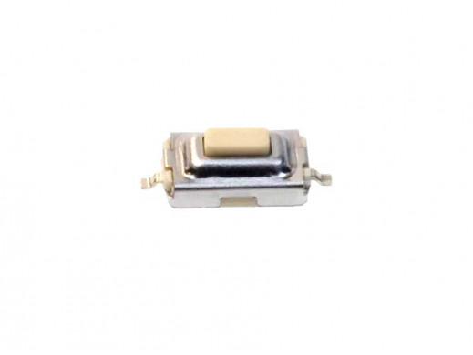 Mikroswitch SMD poziomy 2pin prostokątny 6,1x3,7x2,5mm pyłoszczelny