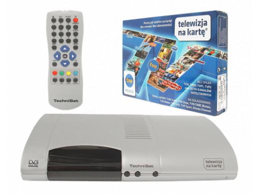 Telewizja na kartę - Dekoder Technisat