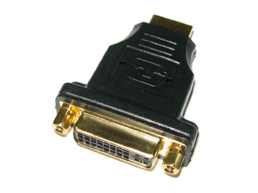 Adaptor wtyk HDMI gniazdo DVI