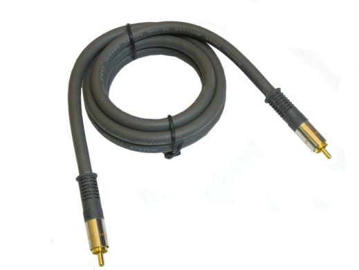 Przewód, kabel 1*1 cinch coaxial 1,5m Daytona Vitalco