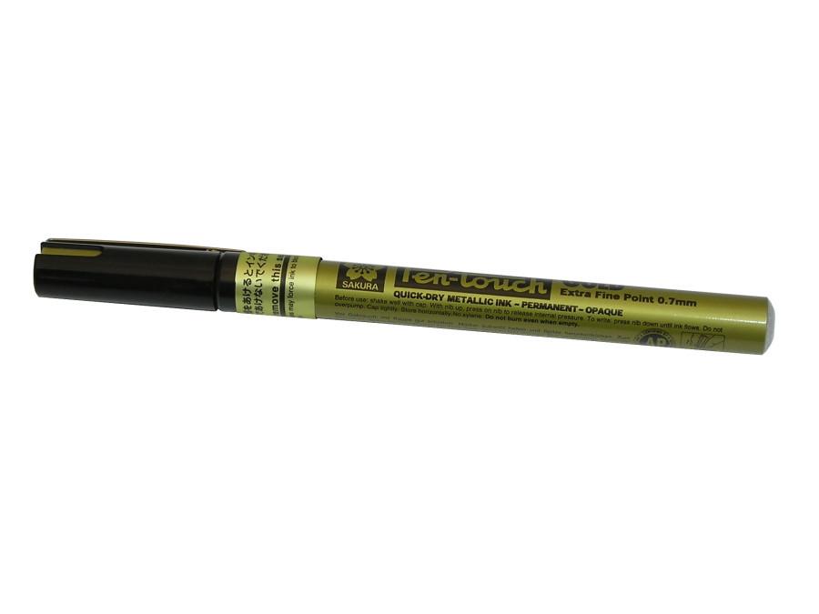Marker olejny 0,7mm złoty