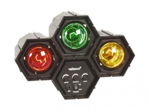 Kolorofon modułowy 3x60W lampowy