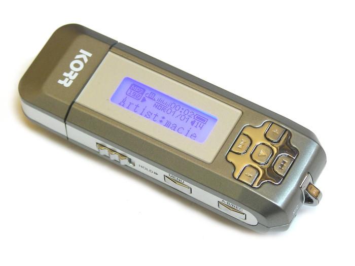 Odtwarzacz mp3 KORR KMP 221 1GB + FM