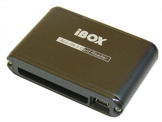 Czytnik Kart iBox 42w1 USB czarny