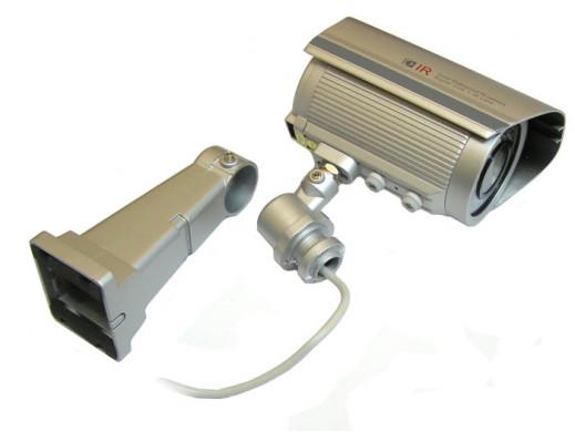 Kamera kolor Ckw-s111/Fu/3138 z podczerwienią i uchwytem zewnętrzna