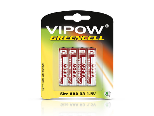 Bateria R-03 Vipow Greencell