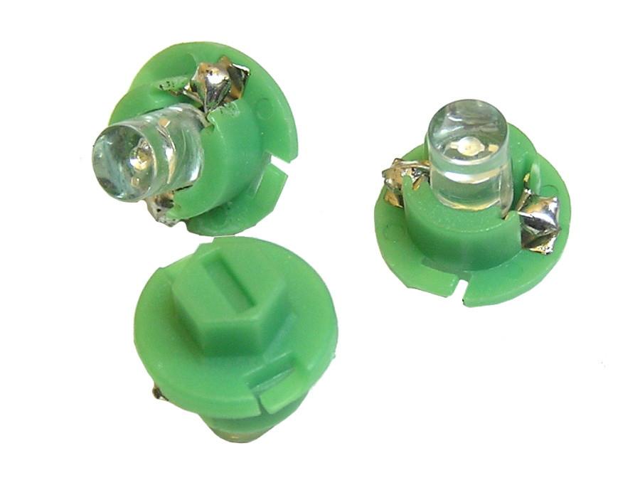 Dioda LED samochodowa 5mm Zielona B 8.4D-G 12v w oprawce