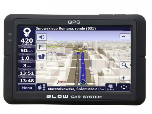 Nawigacja Blow GPS43VBT z...