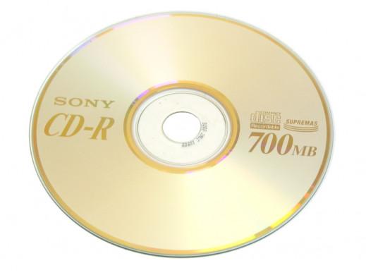 Płyta CD-R SONY 700MB bez opakowania