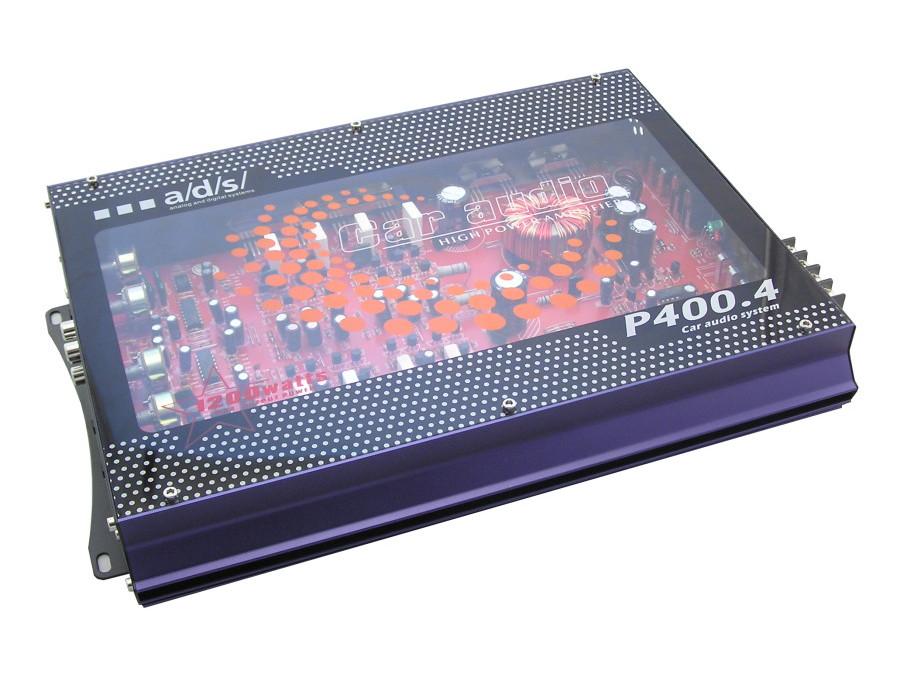 Wzmacniacz samochodowy P400.4 4x300W