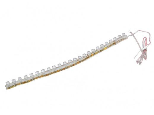 Listwa 24 LED zimny biały 12v