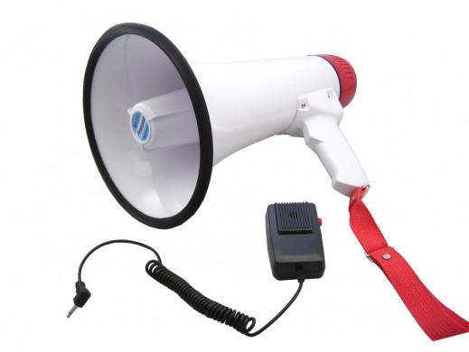 Megafon MP-513 typu horn przenośny 15W/20W Max