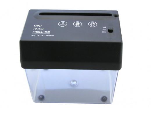 Niszczarka papieru mini na USB