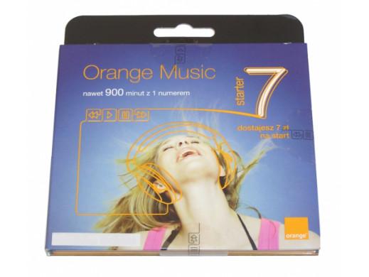 Zestaw startowy orange music 7