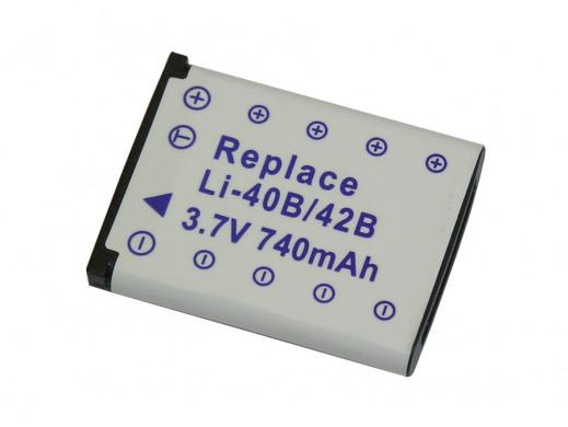 Akumulator do aparatu LI40B 3,7v 740mA Olympus