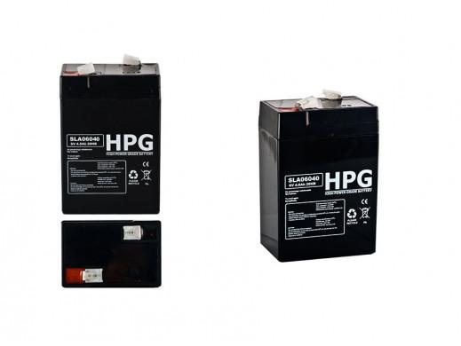 Akumulator żelowy 6V 4Ah uniwersalny