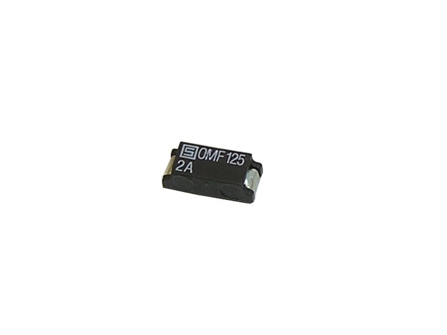 Bezpiecznik Smd 2A 125V 7,4*3,1*2,6mm szybki