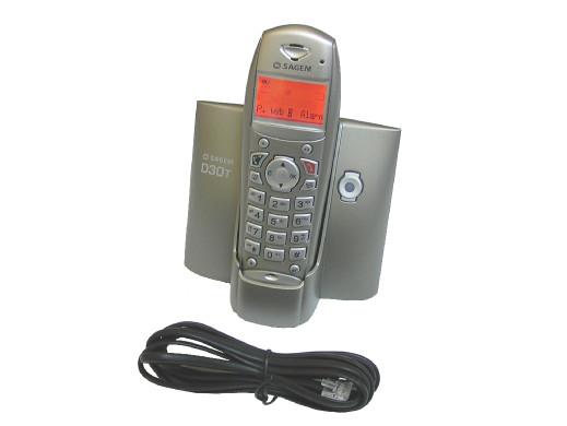 Telefon bezprzewodowy Sagem...