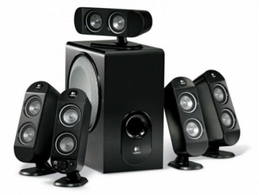 Głośniki komputerowe X-530 5,1 Logitech 70w rms