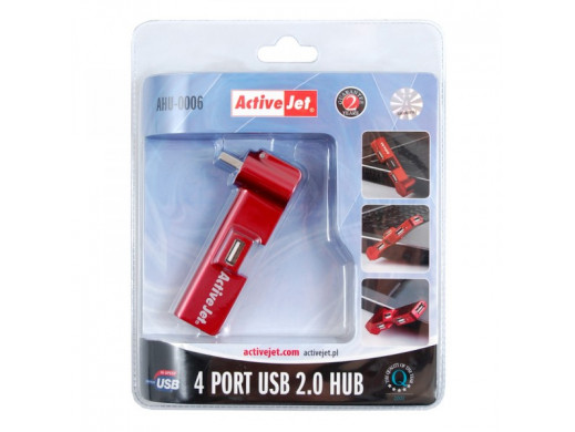 Hub Usb 4 porty AHU-0006...